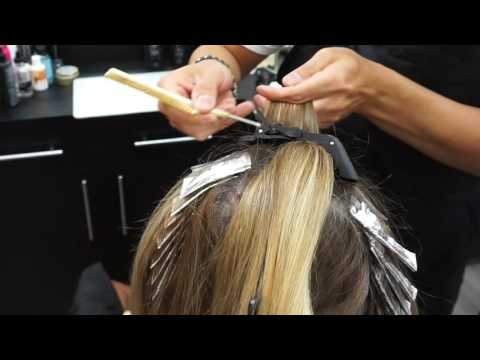 How to do a Color Touch up with Highlights at the same time.