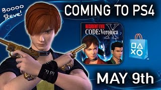 RESIDENT EVIL CODE VERONICA X | CVX PS4 | Coming May 9th! | RE News