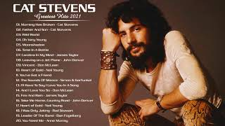 Cat Stevens Greatest Hits Full Album - Folk Rock And Country Collection 70