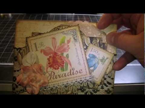Tropical Layout & Postcards with Calla Lilies.mov