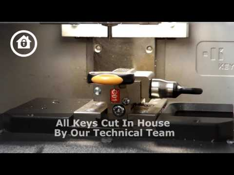 Avocet ABS Replacement Key Cutting Demonstration