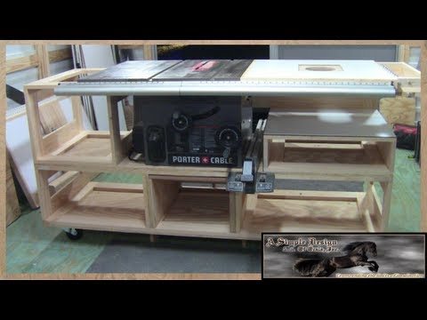 Building a Tablesaw Base Part 1