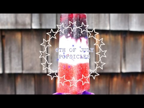 DIY 4th of July Popsicles!
