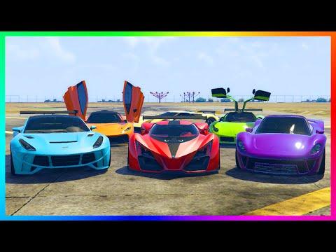 NEW FASTEST SUPER CAR GROTTI X80 PROTO? - SUPER CARS SPEED TEST! X80 PROTO VS BEST CARS!