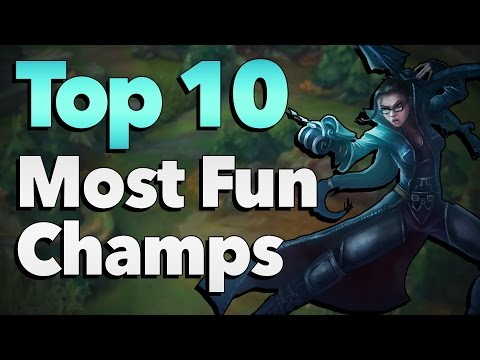 Top 10 Most Fun Champions to Play in League of Legends