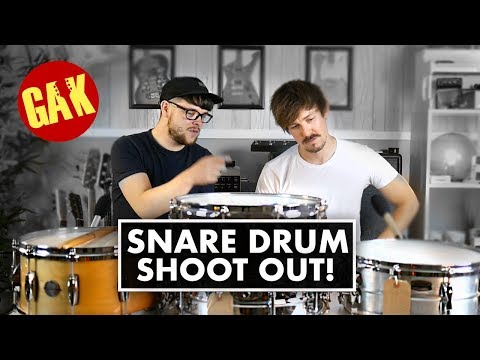 Snare Drum Shoot Out!