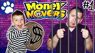 ПОБЕГ ИЗ ТЮРЬМЫ В ИГРЕ ДЛЯ ДЕТЕЙ Money Movers | Escape From The Prison | Матвей Котофей новая серия