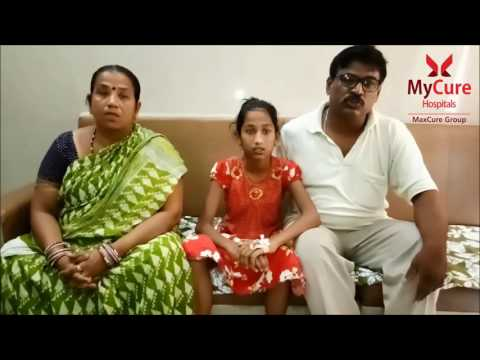 Baby Reshmi Kumari Das a 11years child visited MyCure Hospitals