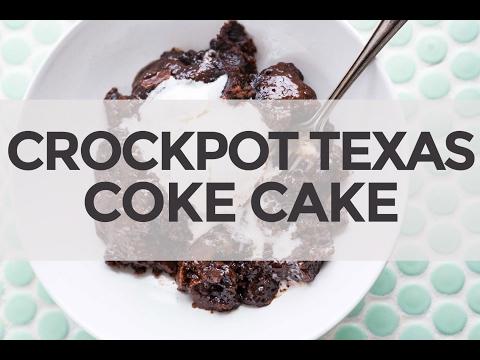 Slow Cooker Texas Coke Cake