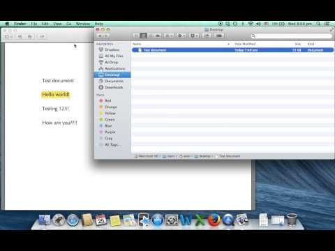Mac OS X - tips for PDF files