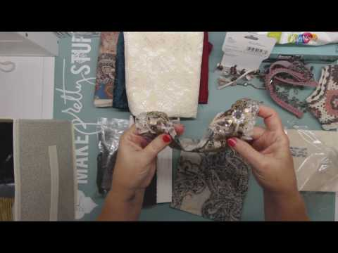 Preparing to Make a Gypsy Fabric Book