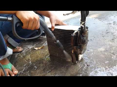 How to Clean Air-con Dirty Evaporator camry 1997,1998,1999,2000