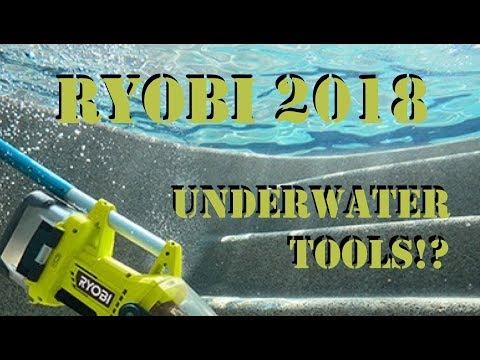 Ryobi 2018 Catalog - New, Coming Soon, Brushless, Underwater, and More!