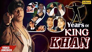 Best Of Shah Rukh Khan   VIDEO JUKEBOX   28 Years of King Khan   Superhit Songs Of SRK   90
