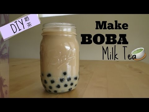 DIY: How to Make Boba Milk Tea Fast and Easy | Bubble Milk Tea