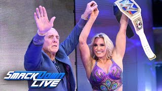 Ric Flair surprises Charlotte to celebrate her championship win: SmackDown LIVE, Nov. 14, 2017