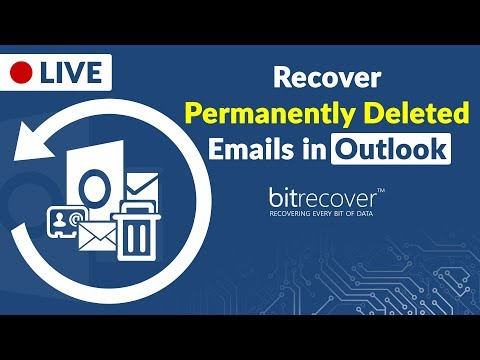 How to Recover Permanently Deleted Emails in Outlook PST 365, Outlook 2016,2013, 2010