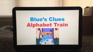 Blue's Clues Alphabet Train Song