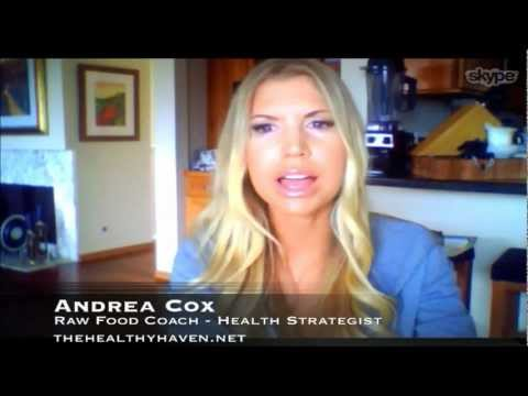 The Anthony Anderson Show - Episode 012 - Andrea Cox, Raw Food Coach and Health Strategist NEW