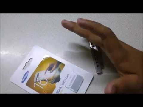samsung 16 gb class 10 micro sd card unboxing