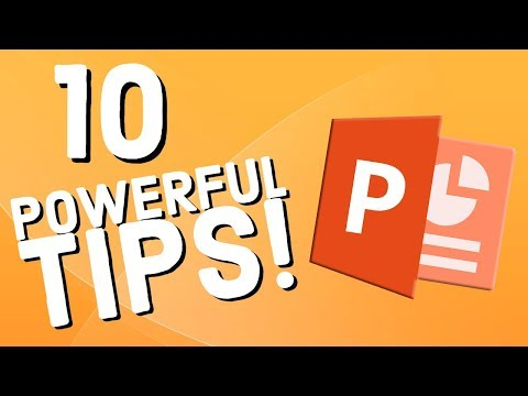 10 Powerful PowerPoint Tips