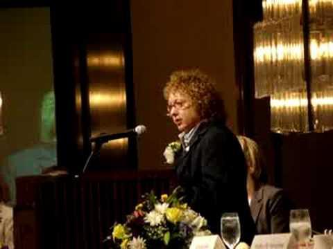 Joyce Bender Speaking at the YWCA Luncheon