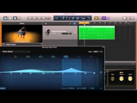 Using EQ in Garageband for Better Sound