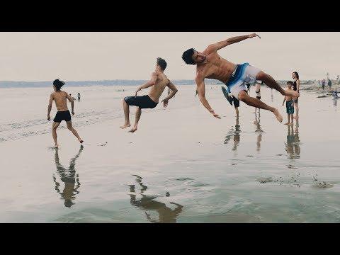 SAN DIEGO PARKOUR JAM: Coronado Beach