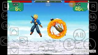 GBA emulator:Dragon ball z super sonic warriors Trunks Story: Defeat the Androids!