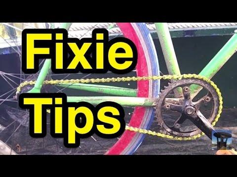 Fixie Bike Riding Tips