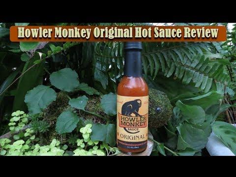 Howler Monkey Original Hot Sauce Review | Armadillo Pepper