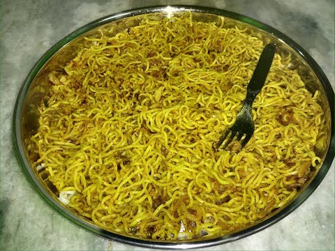 Dry Maggi prepared in different Style Very tasty