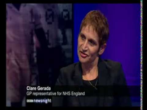 Medical records database shelved for 6 months: Clare Gerada, NHS England Doc rep on Paxman Newsnight
