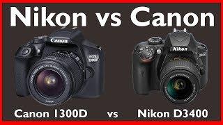 Canon 1300D vs Nikon D3400 in Hindi | Indian Photography Tips