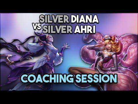 Xxx Mp4 COACHING SESSION Silver Ahri Vs Silver Diana 3gp Sex