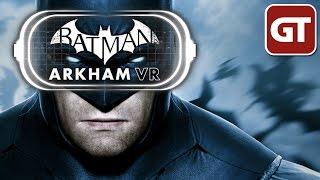 Batman: Arkham VR Gameplay - Let's Play Batman: Arkham VR (German) PS4 - PSVR - Complete