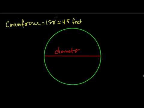 Circumference to Diameter - #15