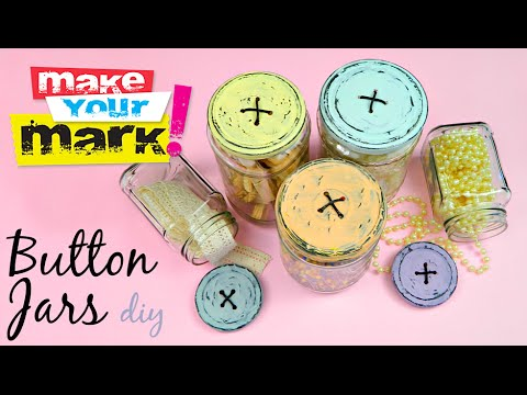 How to: Button Lid Jars