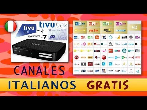 Ver canales italianos gratis, Tivu Sat, Ra1