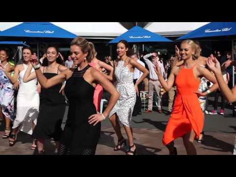 Race Day Flash Mob featuring Cooper St Clothing