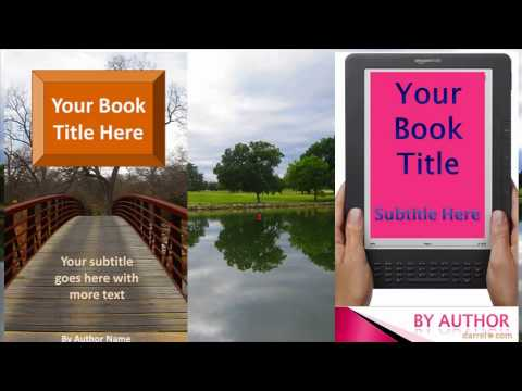 Change Your Own Kindle Ebook Cover With Ebook Cover Generator