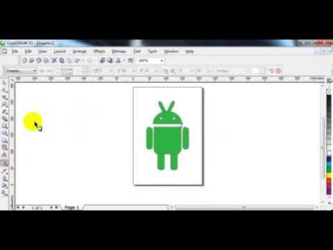 Tutorial Coreldraw - make Android Robot