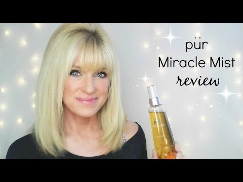 Pur Miracle Mist Review! Great for Dry or Mature Skin!