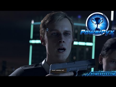 Detroit Become Human - MISSION ACCOMPLISHED Trophy Guide