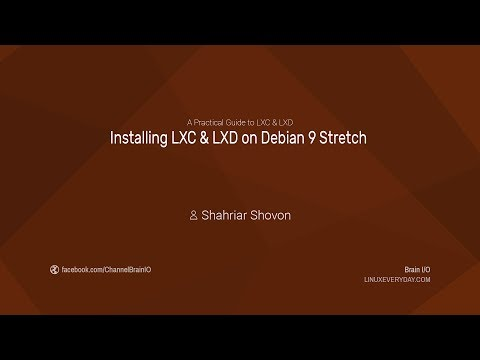04.2. Installing LXC & LXD on Debian 9 Stretch