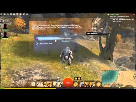Guild Wars 2 - How to get the Warrior/Guardian
