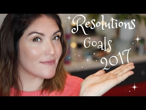 New Year Resolutions | 2017 Goals | Hair Drama, Babies & Bad Habits!