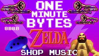 Zelda: Ocarina of Time - Shop Theme [Famitracker, 8-bit/Chiptune