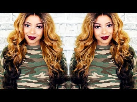 LONG, ROMANTIC & SEXY  | JANET COLLECTION LACE FRONT WIG ESTHER