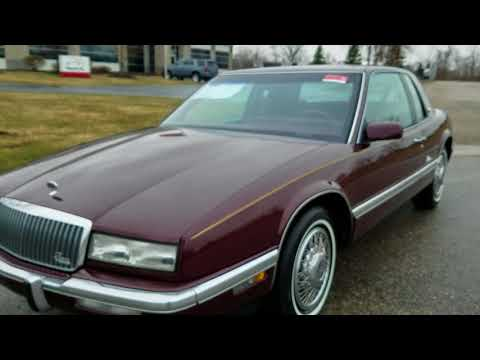 1989 Buick Riviera for sale auto appraisal Grand Rapids Mi 800-301-3886